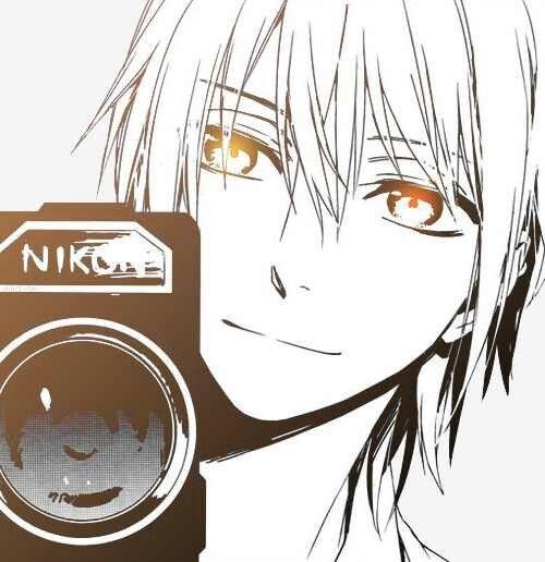 Anime Guy Holding Camera NIKON