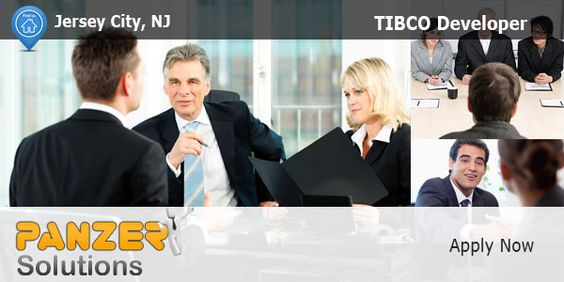 Panzersolutions Hiring # TIBCODeveloper Jersey City, New - tibco sample resumes