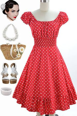 I love this dress!!! Cute little white shoes and done