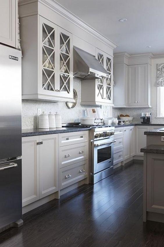Best Honed Steel Gray Granite Carrara Marble Backsplash 400 x 300