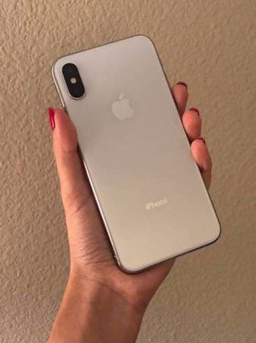 Apple Iphone X 256gb Silver Unlocked A1865 Cdma Gsm