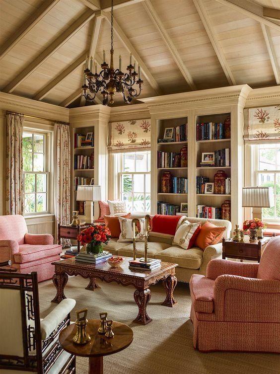 35 Beautiful Cozy Living Room Design Idea Try For You Rengusuk Com Dark Furniture Living Room Cozy Living Room Design French Country Living Room