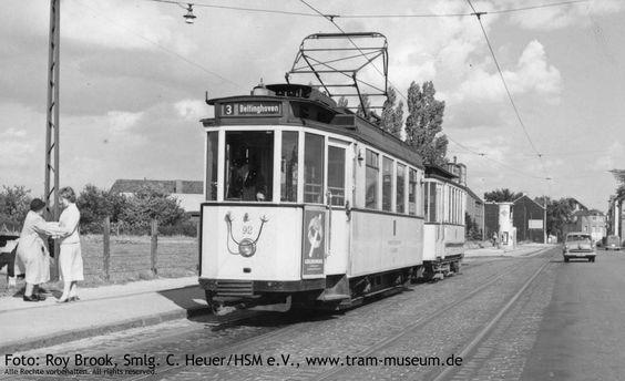 Schöne alte Tram