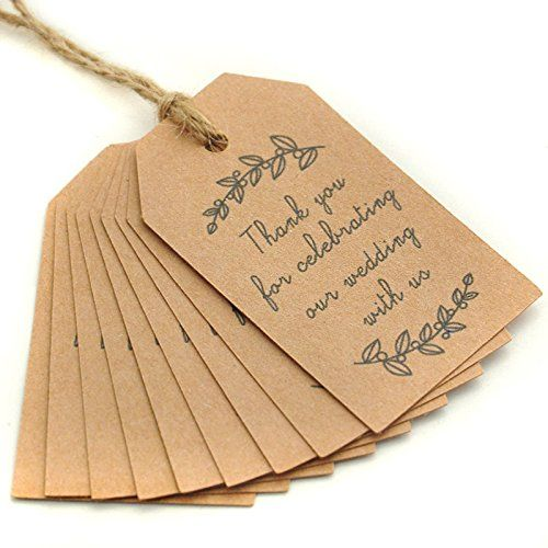 Wedding Favor Tags With String : Gift Tags, Wedding Favor Tags, Thank You Tag, Gift Tags With String ...