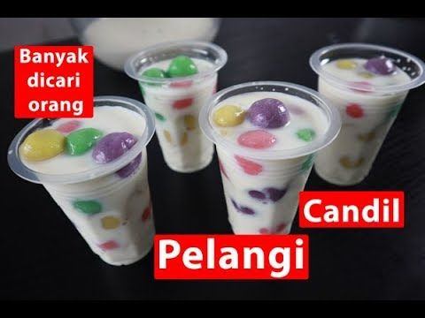 Candil Pelangi Enak Buat Buka Puasa Youtube Resep Minuman Pewarna Makanan Pelangi
