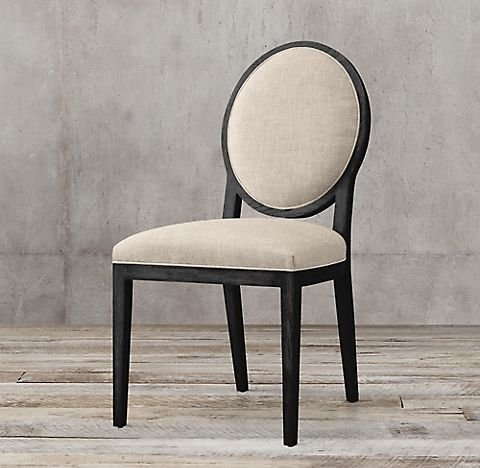 French Contemporary Round Fabric Collection Rh En 2020 Chaises D Appoint Chaise De Salle A Manger Relooking Chaise Salle A Manger
