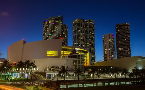 American Airlines Arena by Greg__Urbano. @go4fotos