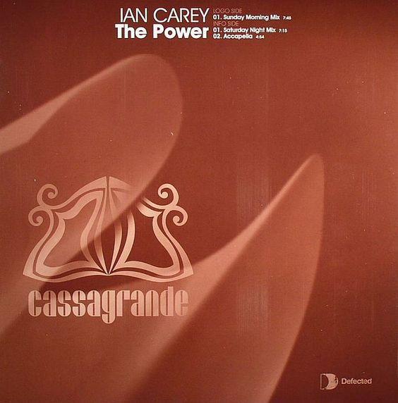 Ian Carey – The Power (single cover art)