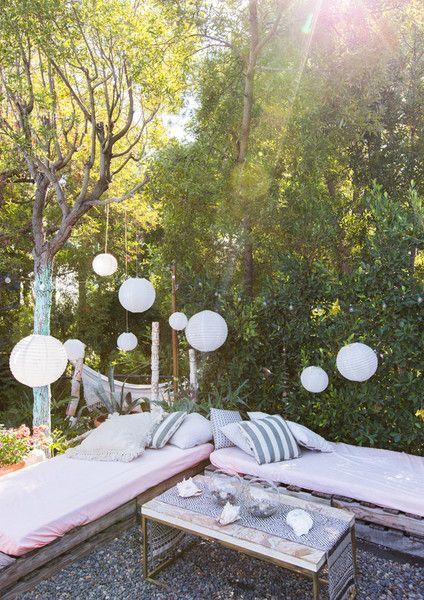 Outside Oasis - This Hollywood Hills A-Frame Home Is Magical - Photos
