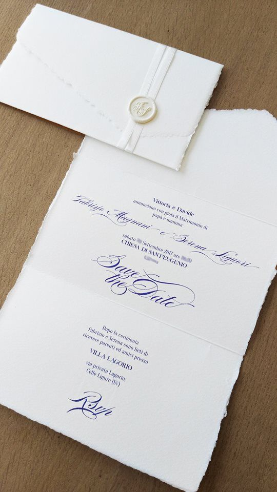 Partecipazioni Matrimonio Carta Amalfi.Partecipazioni In Carta Amalfi Partecipazioni Di Nozze