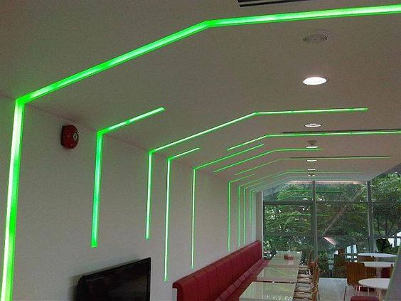 Decorate your home and office with stylish #LEDLinear lighting ...