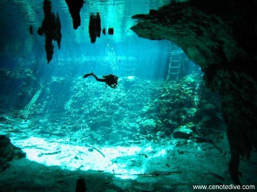 Tulum underground river