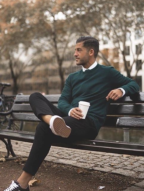 kosta_williams with a business casual combo featuring a