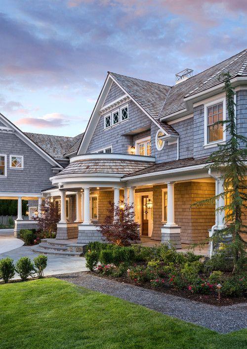 Curved Nantucket Shingle Style Home Plans Google Search Nantucket Home Pretty House Shingle Style Homes