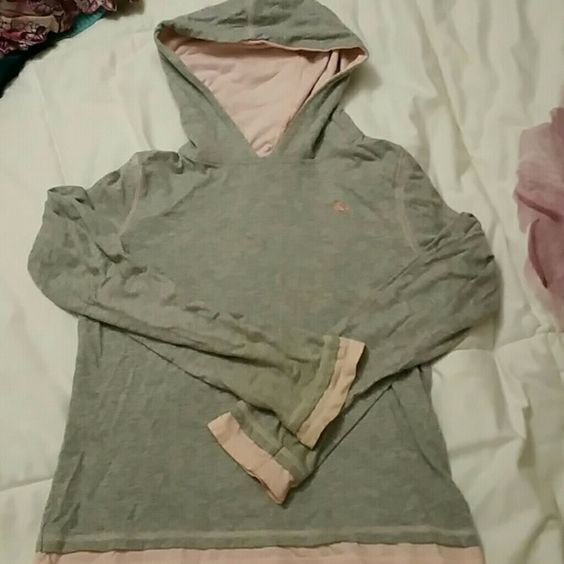 **SALE** Old Navy girl's hoodie Old Navy girl's hoodies, with two tone colors of grey and pink.  100% cotton, light and airy.  Gently worn, in good condition. Old Navy Shirts & Tops Sweatshirts & Hoodies