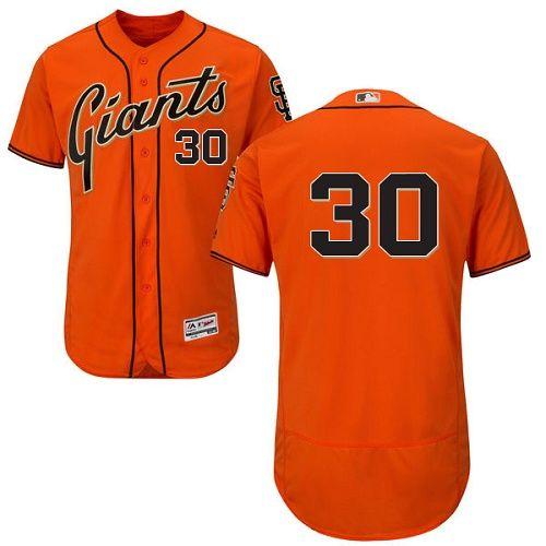 Giants #30 Orlando Cepeda Orange Flexbase Authentic Collection ...