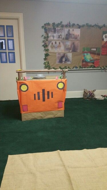Jeep teaching table