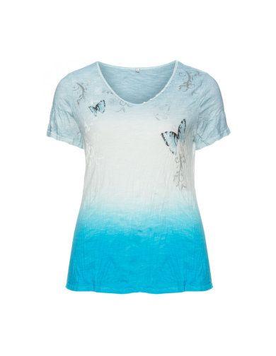 Baumwoll-Shirt mit Farbverlauf von Nostalgia. Jetzt entdecken: http://www.navabi.de/shirts-nostalgia-baumwoll-shirt-mit-farbverlauf-taupe-grau-beige-20915-2601.html?utm_source=pinterest&utm_medium=social-media&utm_campaign=pin-it
