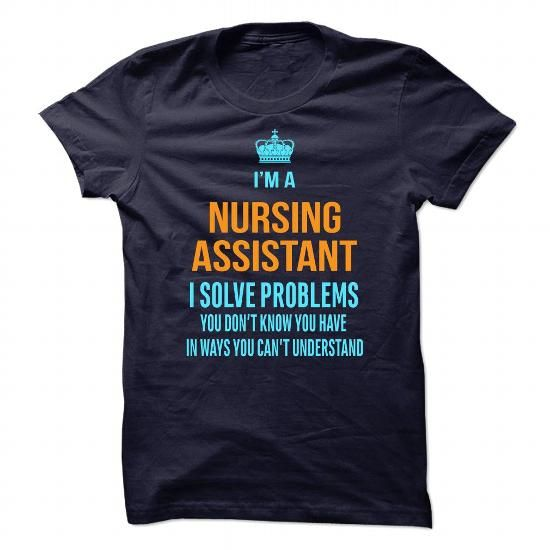 CNA Nursing Assistant T Shirts, Hoodies. Get it now ==► https://www.sunfrog.com/No-Category/CNA-nursing-assistant.html?41382
