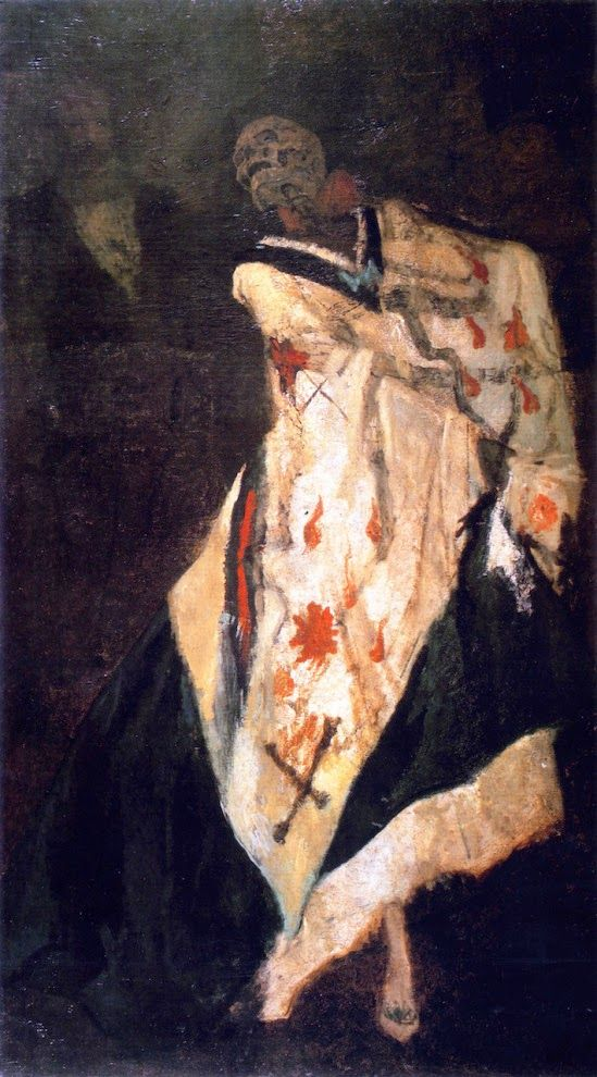 Felicien Rops' Death at the Ball: