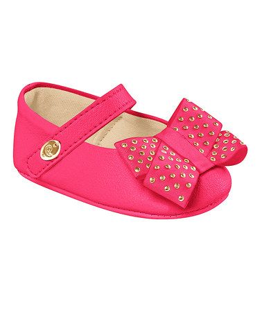 Love this Pink Bow Booties by Pampili on #zulily! #zulilyfinds