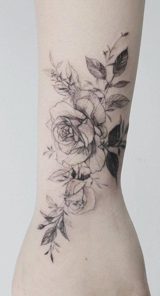 67 Feminine And Awesome Flower And Rose Tatto Ideas Page 59 Of 67 Tattoo Go Flower Tattoo Shoulder Tattoos Tattoos For Guys