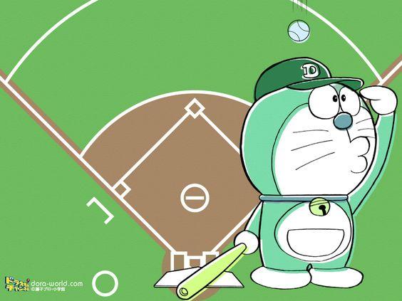 野球×ドラえもん