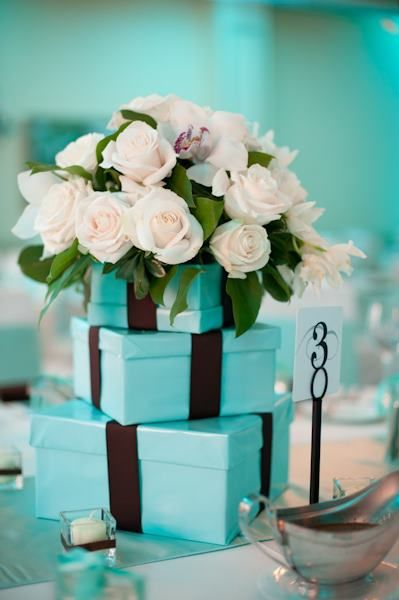 Tiffany wedding centerpieces and events on pinterest