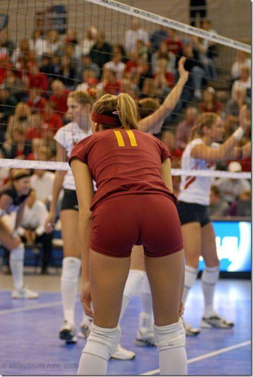 sexy girls volleyball shorts 01 | voli | Pinterest | Volleyball ...
