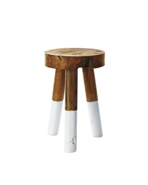 Dip-Dyed StoolsDip-Dyed Stools, $58.00