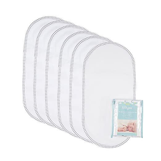 Amazon Com Tillyou 6pk Larger Softer Changing Pad Liners Waterproof 27 X 13 Washable Reusa In 2020 Changing Pad Liner Waterproof Changing Pad Changing Table Cover