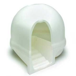 Petmate Dome Cleanstep Litter Box Pearl