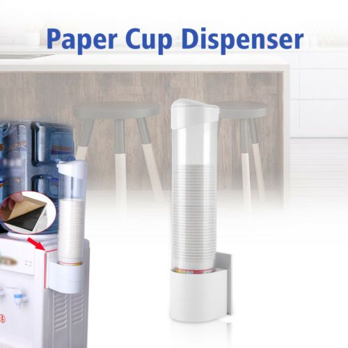 13 09 50 Paper Cup Dispenser Plastic Cups Holder One Touch Button Anti Dust 7 5cm Cup With Images Paper Cup Paper Dispenser Dispenser