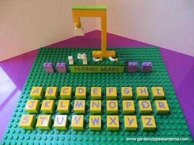 Lego hangman!!