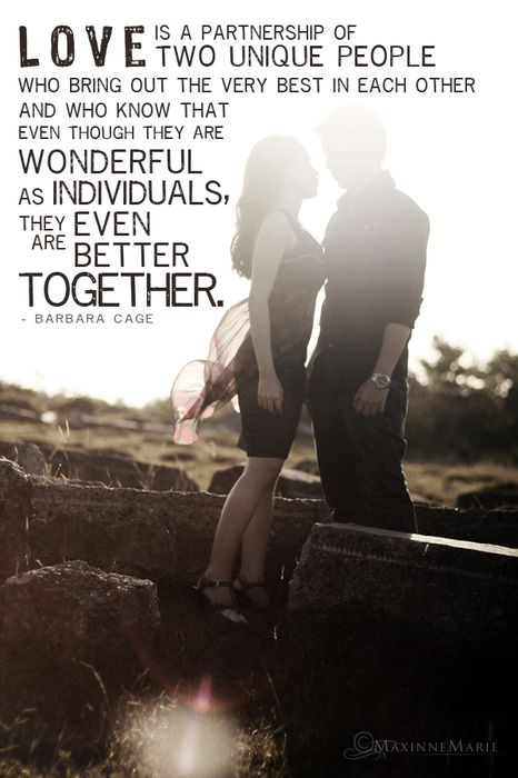 Love is a partnership :): Love My Husband, Love You, Love Is, Barbara Cage, I Love, Better Together, Love Quotes, Relationship Quote
