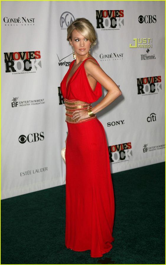Carrie Underwood in Naaem Khan, 2007