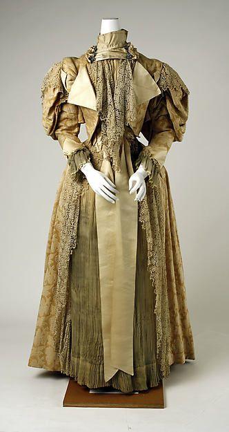 Kleid, ca.1895 | Französisch