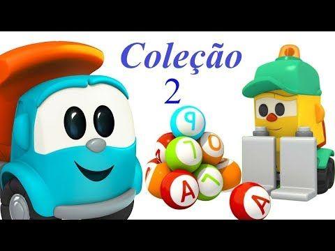 Leo O Caminhao Curioso Colecao 2 Desenho Animado Youtube