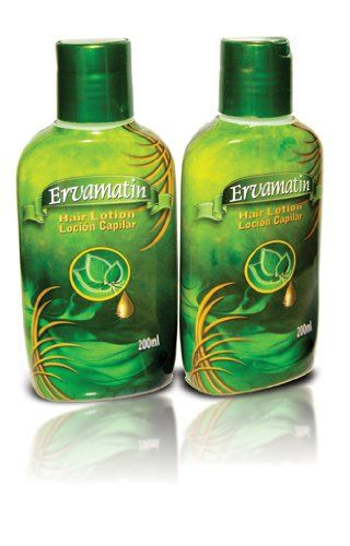 Ervamatin Hair Growth And Restoration Lotion 2 Pack To Get Your Free Bottle Of Shampoo From Us Be Sure Add Both The