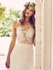 So sexy kann Romantik sein! Brautkleid von Pronovias.