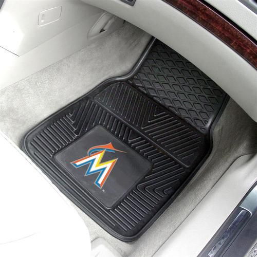 Miami Marlin All Weather Rubber Auto Car Mats