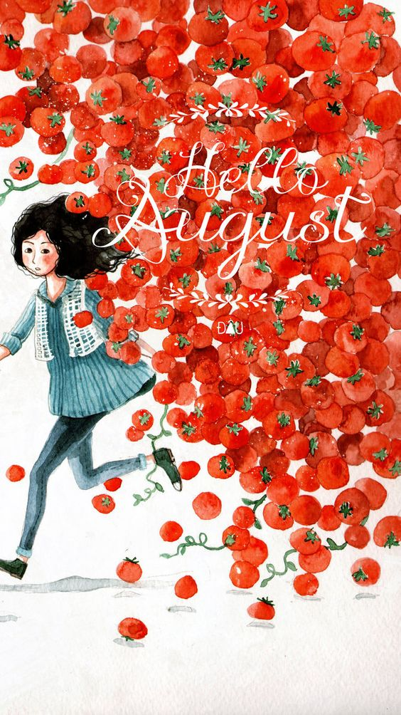 hello August by Cowpea on deviantART