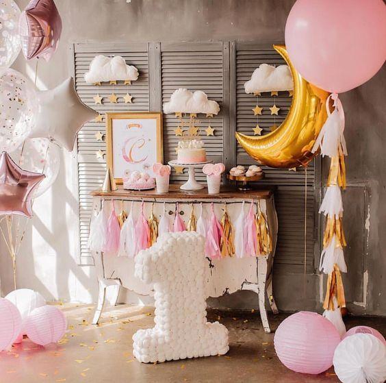Fiestas Infantiles De Moda Temas Para Fiestas Infantiles De Niño Personajes Para Fies Baby Girl Birthday Girls Birthday Party Themes Baby Birthday Party Girl