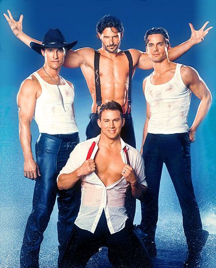 Girls night. Woooot! Who cares if this movie has the worst plot ever? Channing Tatum stripping, heaven.