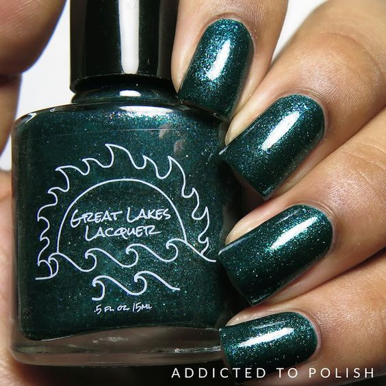 Great Lakes Lacquer I'd Rather Be Fishing | Addicted to Polish