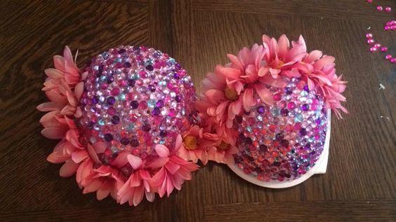 Custom rave bra $55.00 CKcustomclothing.etsy.com #rave #ravebra #bra #ravebras #edm #edc #ultra #ravegirls #edmgirls #costume #festivalseason