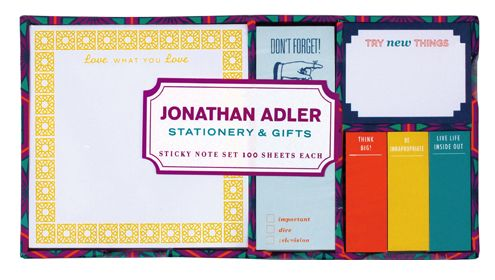 jonathan adler sticky notes