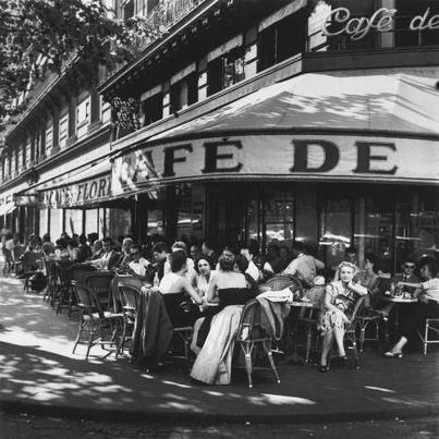 Paris in the 50's.