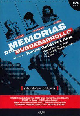 Memórias do Subdesenvolvimento (1968)   Blog Almas Corsárias.