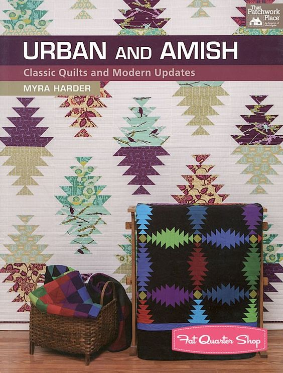 Urban and Amish Quilt Book<BR>Myra Harder